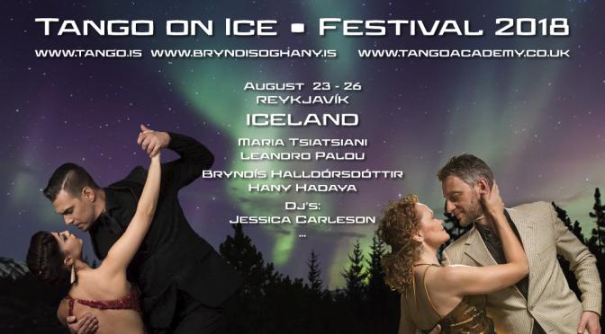 Tango on Ice 23. – 26. ágúst 2018